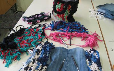 Uporabimo odpadni tekstil za nov izdelek
