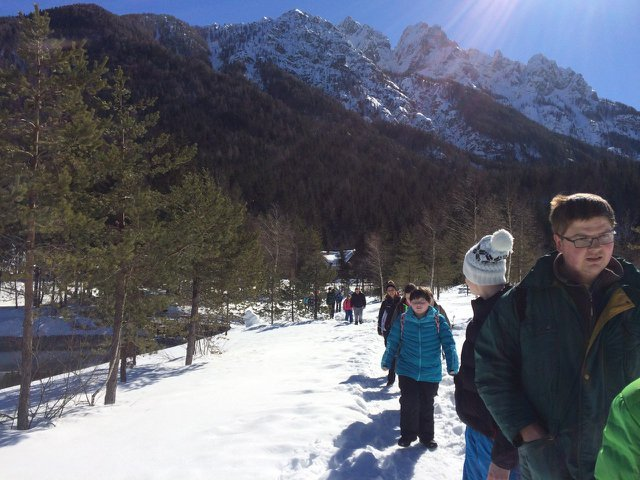 Športni dan v Kranjski Gori