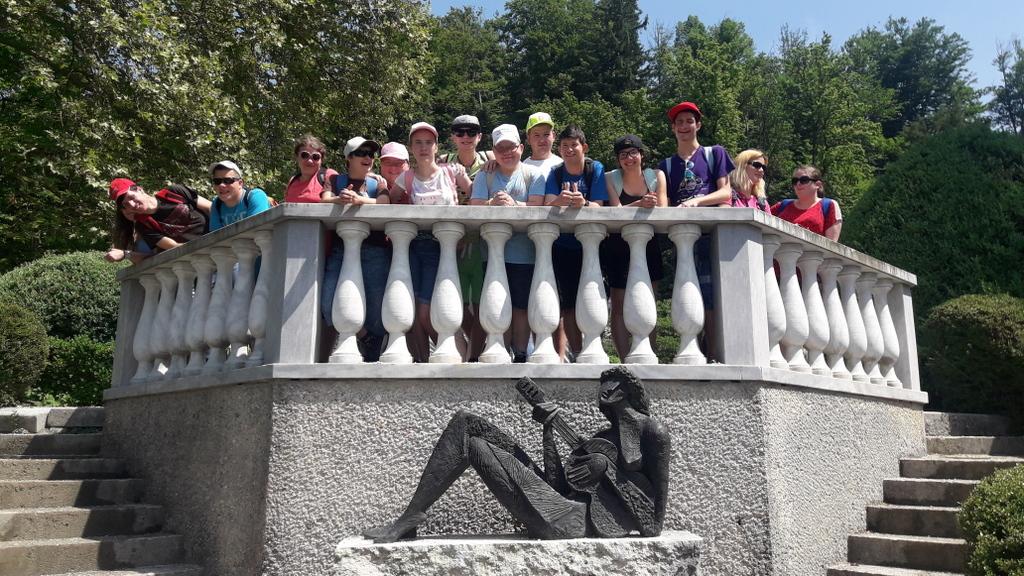 Arboretum Volčji Potok in Kamniška Bistrica